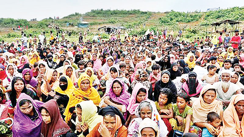 Rohingyas vulnerable to COVID-19 infections