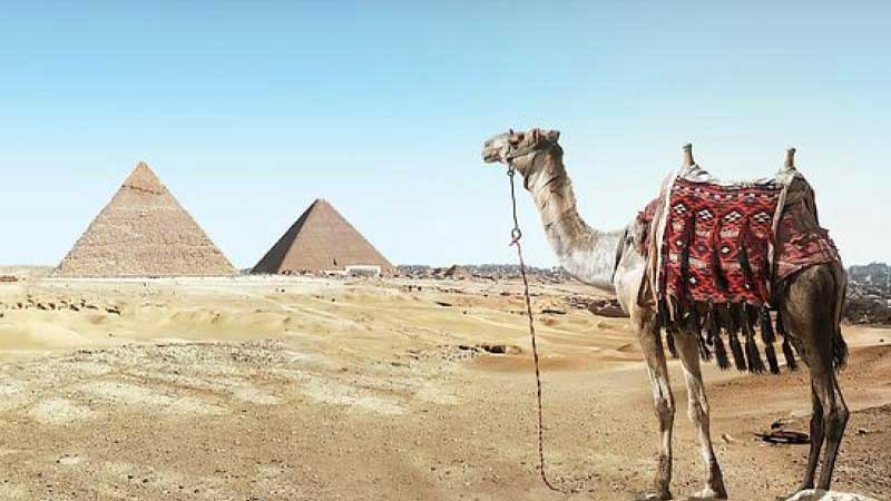 Egypt opens two ancient pyramids for tourists