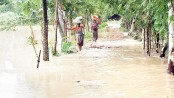 Flood situation turns worse in five districts